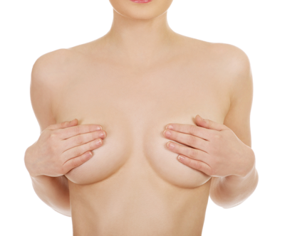 Hyaluron Treatment on the Cleavage